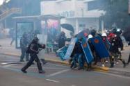Los trancones en Bogotá han vuelto a estar en orden del día.