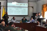 Consejo de seguridad conjunto de Bogotá y Soacha