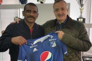 Millonarios confirma la llegada de Arnoldo Iguarán