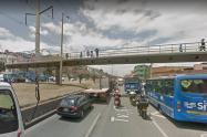 Puente peatonal Ciudad Bolívar