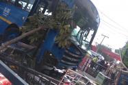 Accidente bus Sitp