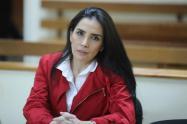 """Excongresista se declaró como una """"perseguida política""""."""
