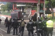Disturbios en la U Distrital