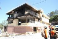 Incendio en un orfanato en Puerto Príncipe