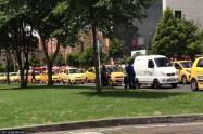Taxistas comienzan plan tortuga por Gran Estación