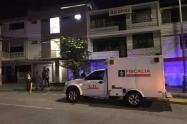 El CTI de la Fiscalía adelanta las investigaciones para esclarecer estos hechos que deja dos víctimas fatales.