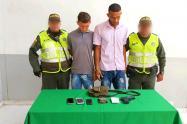 Tenían una pistola de juguete para robar.