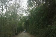 Vía hacia veredas de Silvania, Cundinamarca