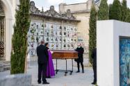 Cementerio en Lombardía, Italia