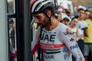 Fernando Gaviria, ciclista del UAE Team