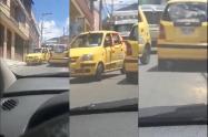 Taxistas metiendo marihuana