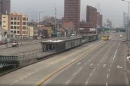 Bogotá aislada