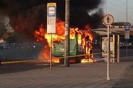 Incendio de Bus