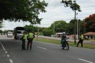 No se permite la movilización por carreteras del Valle.