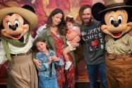 Maleja Restrepo y su familia
