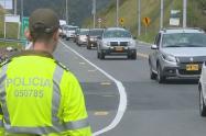 Para evitar el turismo de Semana Santa, la policía destinó 500 policías en las carreteras de Antioquia