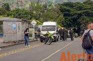 Uno de los agredidos fue trasladado al Hospital Federico Lleras Acosta