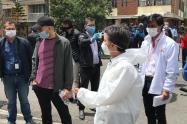 La alcaldesa Claudia López promovió prácticas de autocuidado en el sur de Bogotá