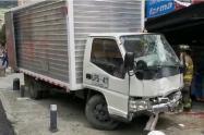 Accidente en Chapinero