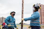 17 obras del Distrito se reactivaron en medio de la pandemia
