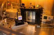 Experimento con lámparas UV lejanas