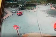 Accidente en Villeta