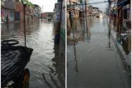 Inundación en Funza