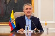 """Presidente Iván Duque, durante su programa """"Prevención y Acción""""."""