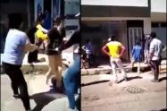 Desalojan a mujer y a su hija en Chinácota