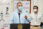 Iván Duque / coronavirus en Colombia