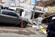 Explosión en obra de Bogotá en medio de pandemia