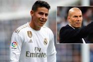 James Rodríguez, Zinedine Zidane