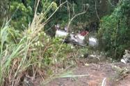 Accidente de tractomula en Cundinamarca