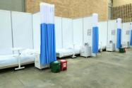 Pabellones de Corferias fueron adaptados para recibir a pacientes COVID.