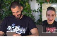 James y Benzemá en You Tube