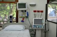 Así son las camillas instaladas en el Hospital San Vicente Fundación de Medellín.