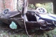 Accidente en la vía Bogotá - Girardot