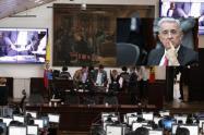 Concejo de Bogotá y Álvaro Uribe