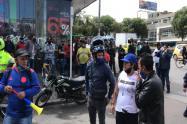 Protestas en Suba y la Autopista Norte