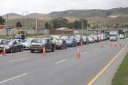 Varios vehículos fueron devueltos por cierre de fronteras