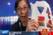 Viróloga que acusó a China de crear el covid mostró informe con pruebas