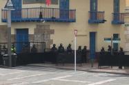 Esmad en el centro de Bogotá, 13 de septiembre de 2020