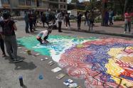 Actos culturales en los CAI vandalizados en Bogotá