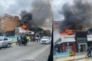 Incendio en Chapinero
