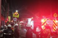 Incendio en localidad de Fontibón