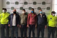 Captura de bandas delincuenciales en Bogotá