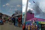 Incendio en Corabastos
