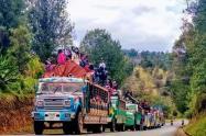 Autoridades brindarán acompañamiento a movilización indígena en Ibagué