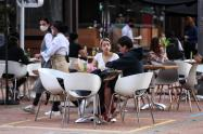 Nueva normalidad en Bogotá, Zona T