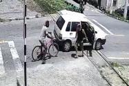 Accidente entre carro y tren